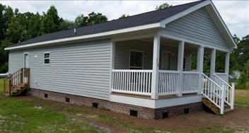 Narrow Lot Modular Homes Down East Realty Custom Homes