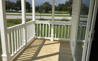 Front Porch Singlewide $59,900 + tax Turnkey Morehead City NC
