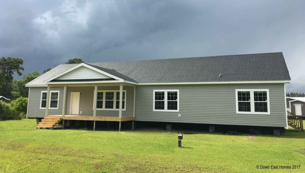 Mon reve down east realty custom homes for Home builders in eastern nc