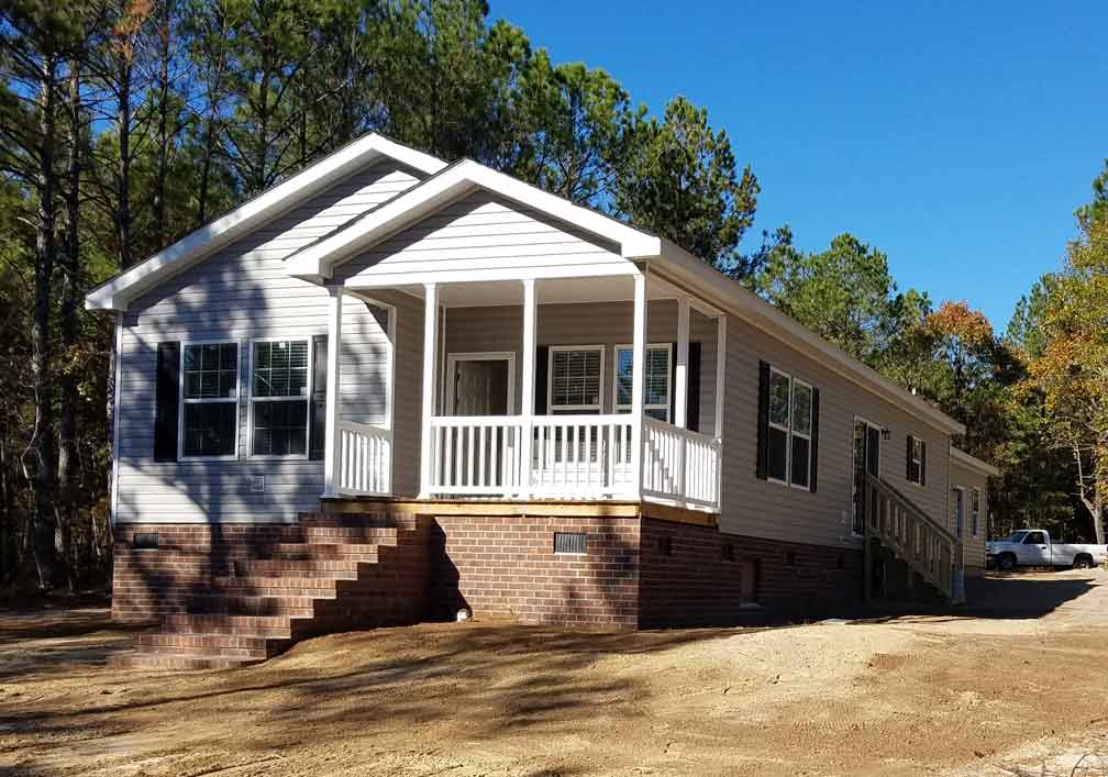 Narrow Lot Modular Down East Homes Nc