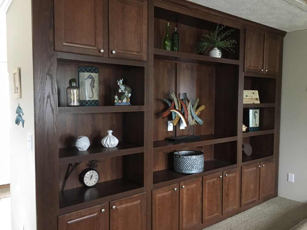 Entertainment Unit in Living Room
