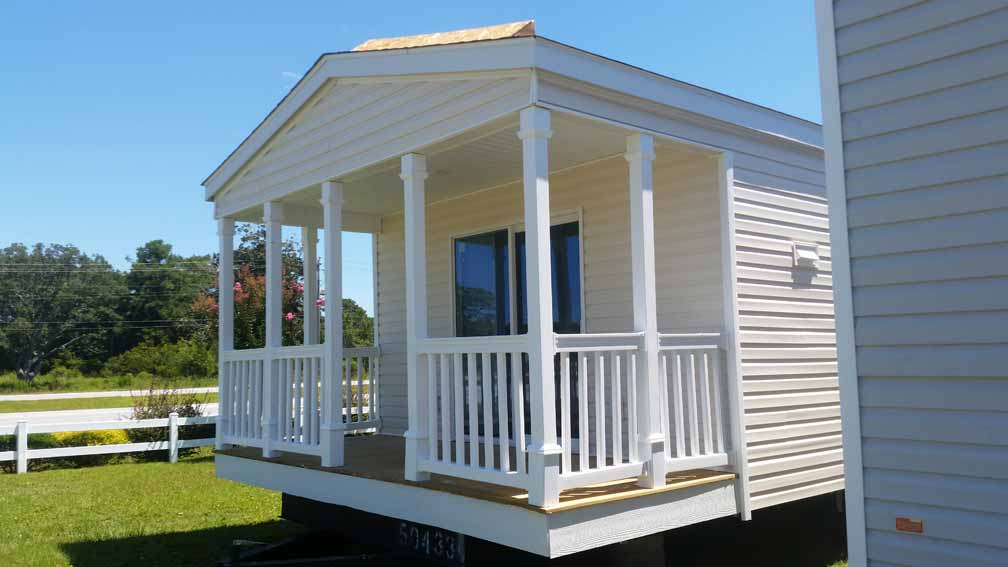 Front-Porch-Single-Wide-5-1 Double Mobile Homes Prices on 2012 clayton homes, double wide homes, double garages, double buses, okc custom homes,