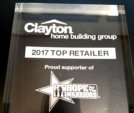 2017 Top Retailer Clayton NC