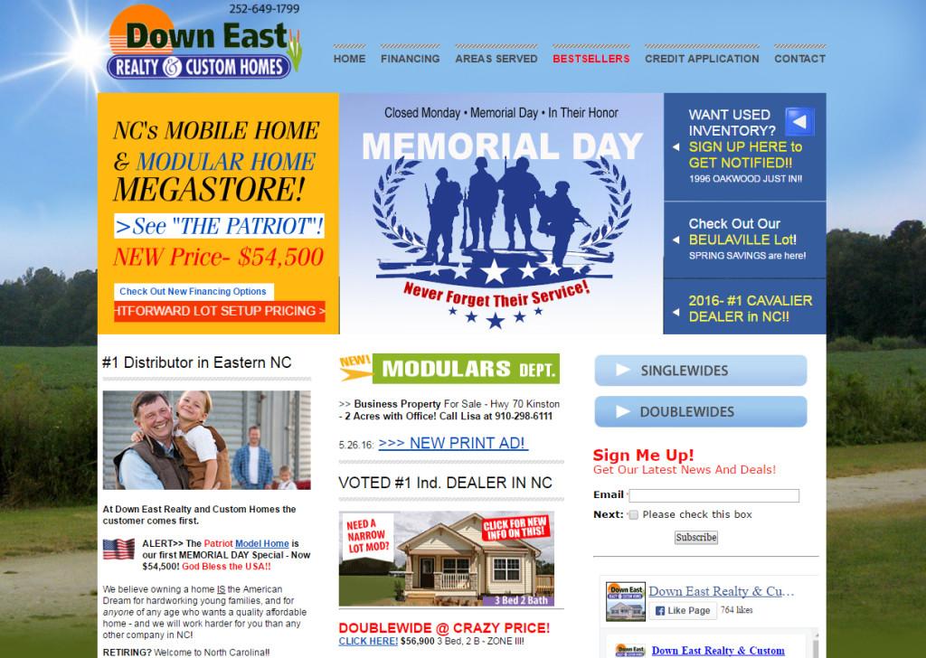Down East Realty & Custom Homes - New Bern NC