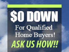 Zero Down Home Sale NC