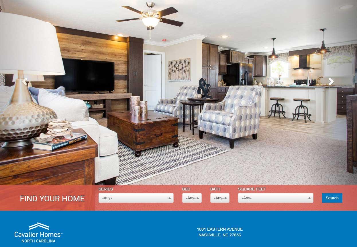 Top Cavalier Homes Dealer in North Carolina
