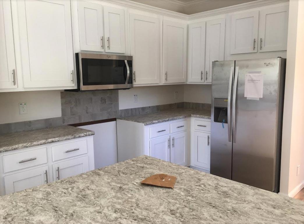 Narrow Lot kitchen