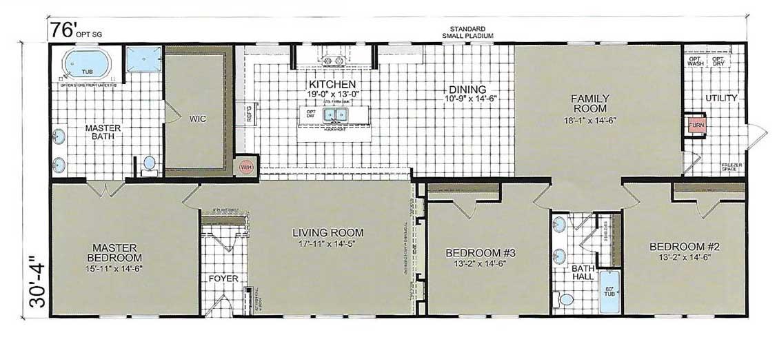 Mon Reve Floor Plan - Champion Homes