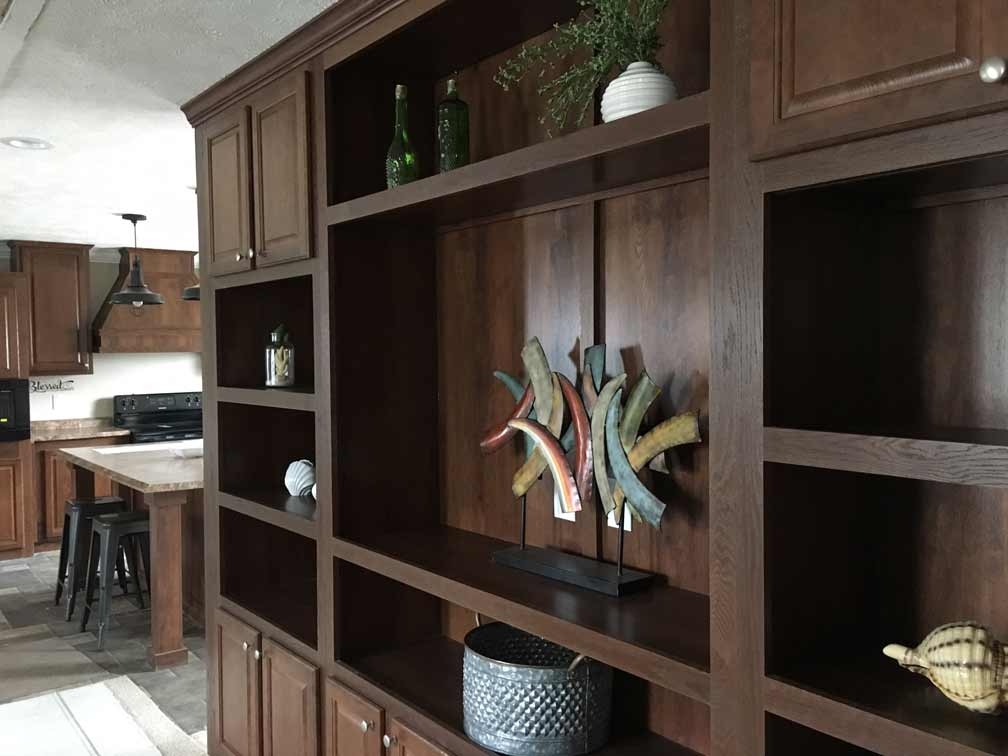 Sample Wall Cabinet in Living Area
