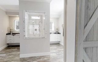 Somerset Master Bath - Down East Homes NC