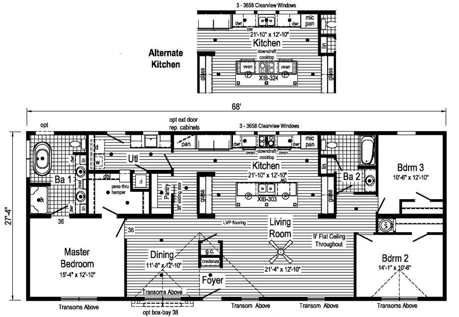 Blue Ridge Max Supreme 2 Floor Plan