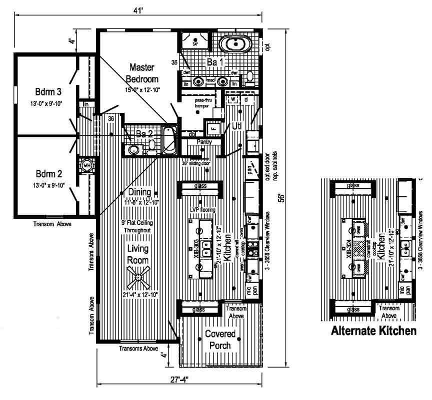 Supreme 5 Floor Plan