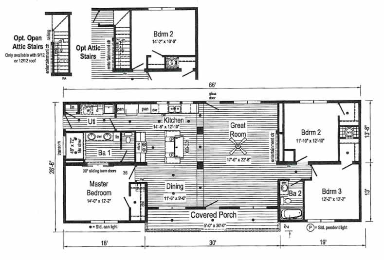 Summit Saddle Floor Plan - New Bern NC