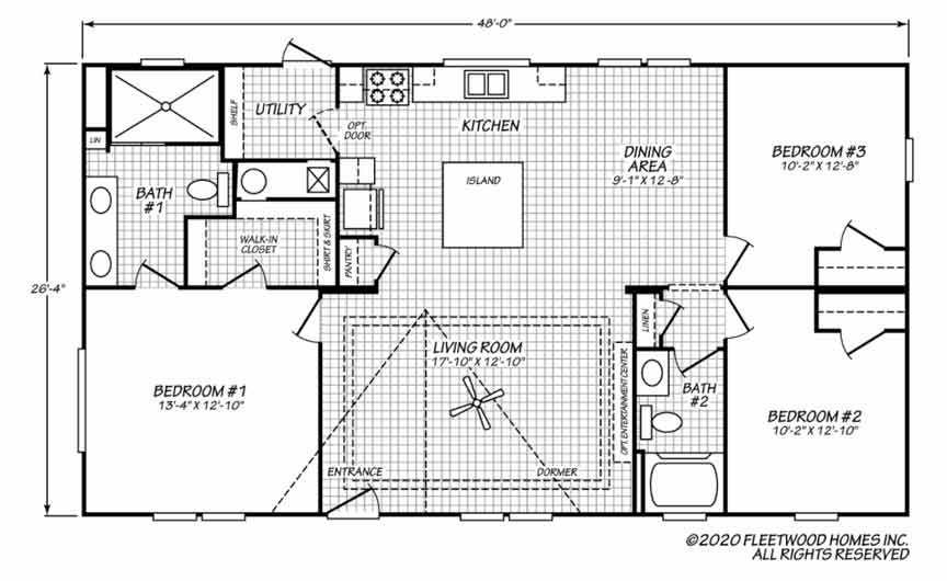 Pegasus 28483 floor plan