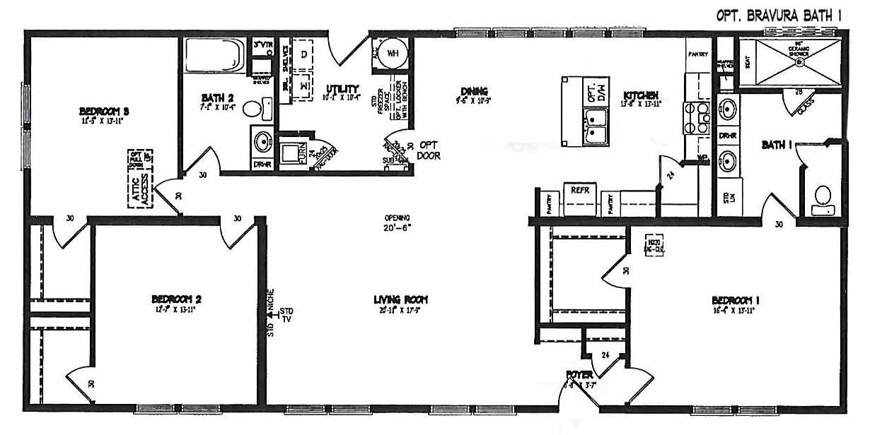 Tillary Modular Floor Plan - NC