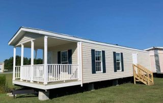 Getaway 1 Bed Single Wide with Front Porch